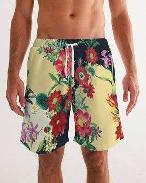 Blooming In The Morning Men's Swim Trunk