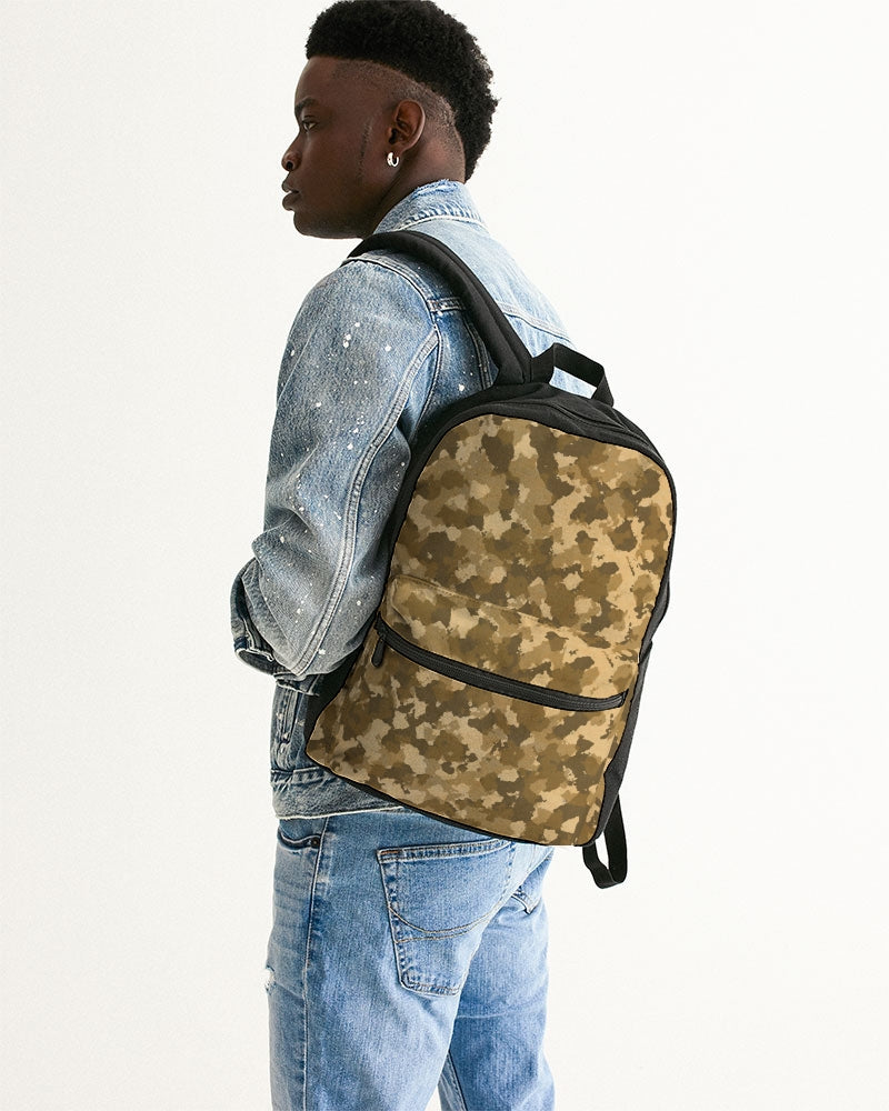 Military Pattern Small Canvas Backpack