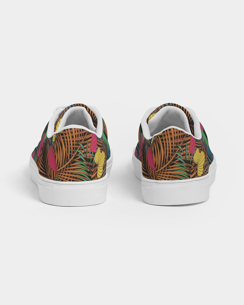 Wild Garden Women's Faux-Leather Sneaker