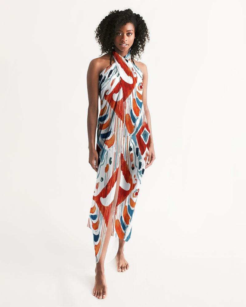 Bali Ikat Swim Cover Up