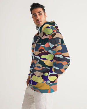 Summer Garden Men's Windbreaker