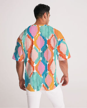 Marmalade Ikat Men's Premium Heavyweight Tee