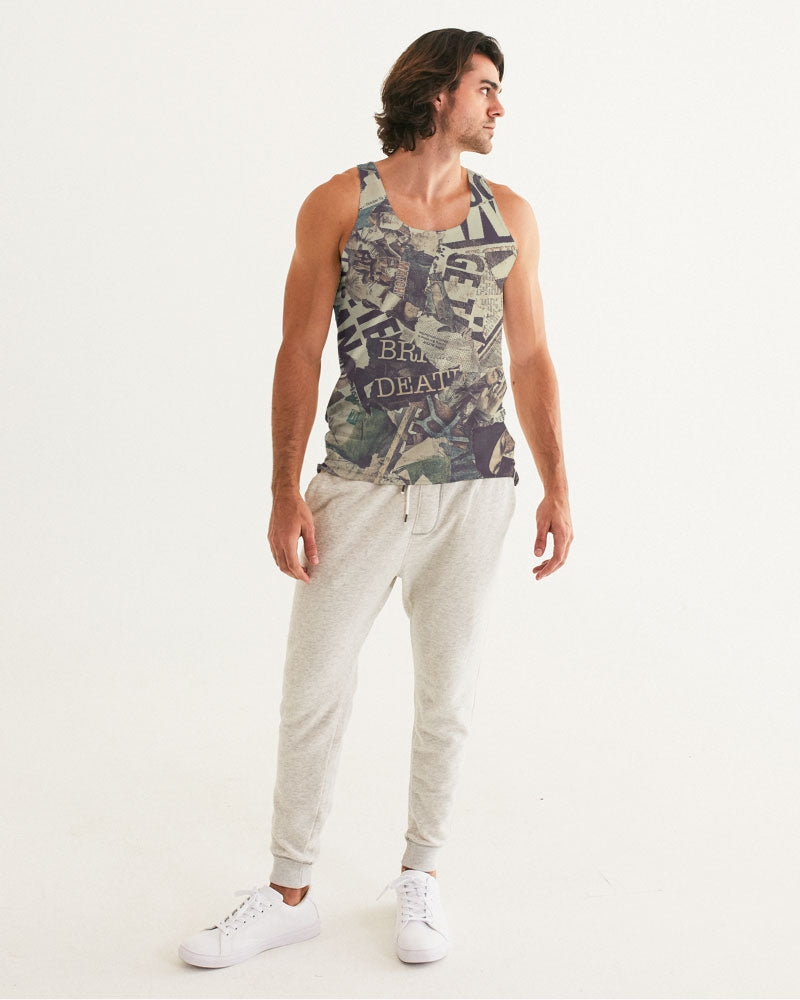 Newspaper Men's Tank