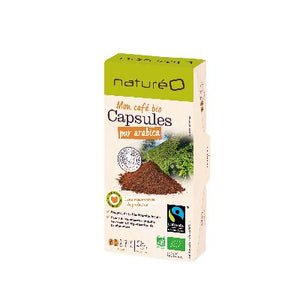 CAPSULES BIO FAIRTRADE X10
