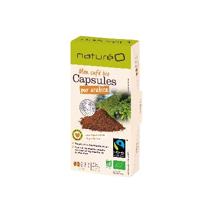 NATUREO CAPSULES BIO FAIRTRADE x10