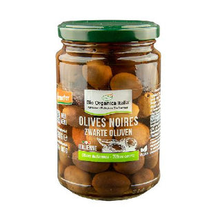 OLIVES NOIRES ENTIERES 280G