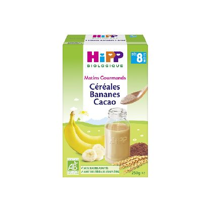 CEREALES BANANES CACAO 250G