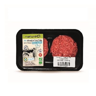 STEAK HACHE 5% 2X125G