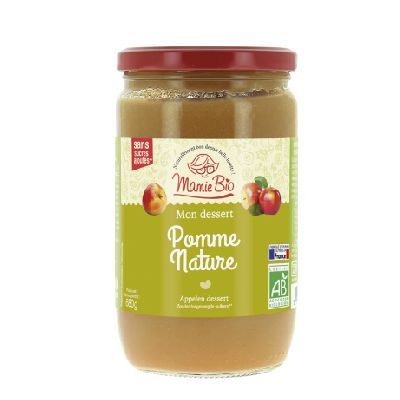 PUREE POMME NATURE 680G