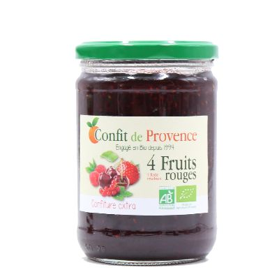 CONF EXT 4 FRUITS ROUGES 650G