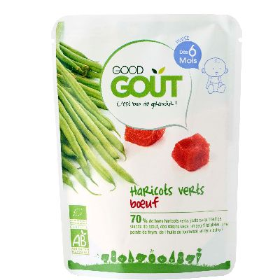 Haricots Verts Boeuf 190G