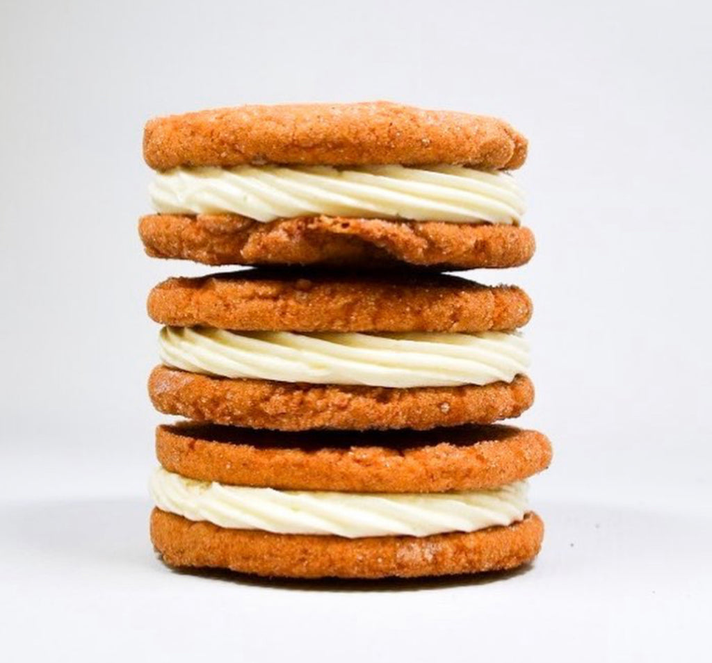 Pumpkin Spice Cookie Sandwich