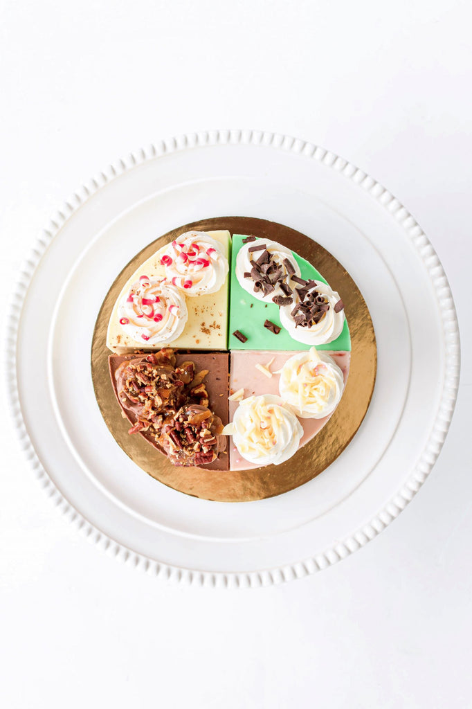 Seasonal Cheesecake Sample Platter