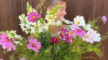 How To Sow, Grow & Give Cut Flowers - A Simple Guide