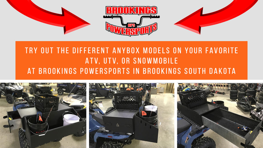 Now Available at Brookings Powersports