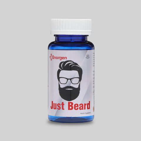 Just Beard | Best Beard Growth Capsule | Enorgen