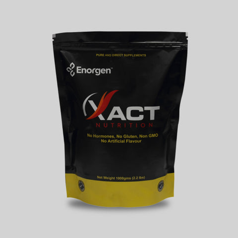XACT Nutrition Unflavored | Best Protein Powder | Enorgen