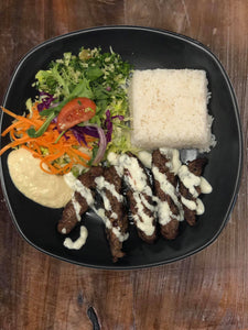 Beef Kebab On Rice
