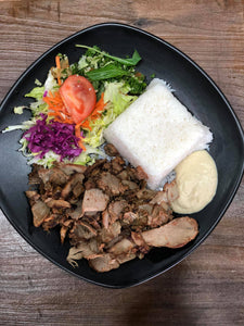 Lamb Kebab on Rice