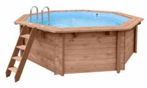 Piscina Madeira - TROPICAL SUNSHINE - 4,34X4,01X1,16 (MT)