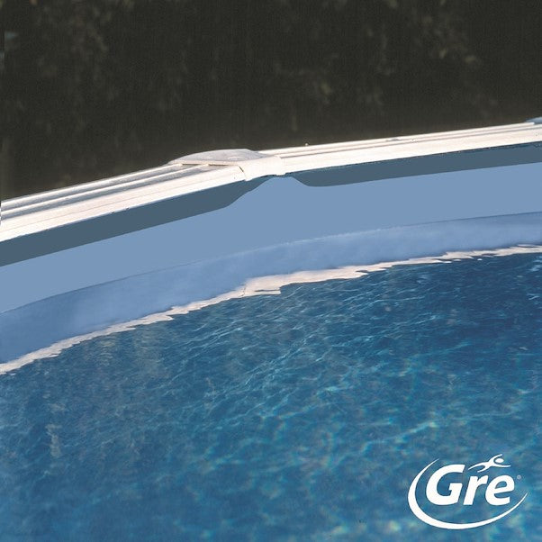 Liner coating for steel round pools - Blue and Blue mosaic