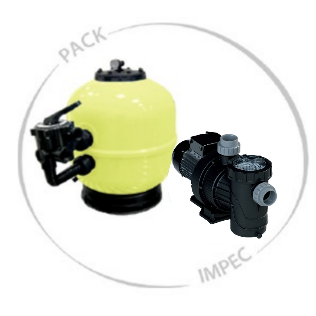 Set (Impac Pack) Filtration + Pumpe