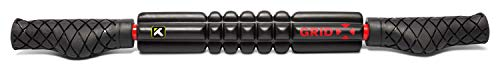 TriggerPoint Performance GRID STK X Handheld Foam Roller, 21 Inch, Extra Firm Density