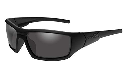 Wiley X Censor Matte Black Frame with Polarized Grey Lenses