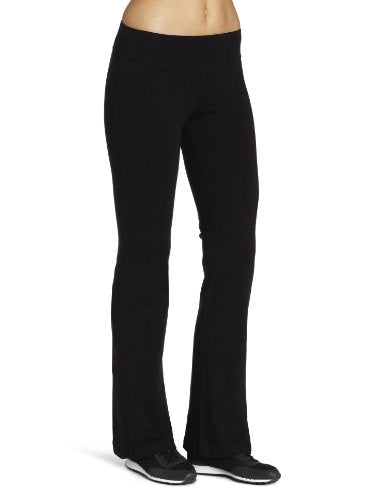 Spalding Women's Bootleg Yoga Pant, Black, Small
