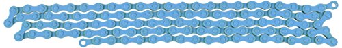 KMC KMC079 Z410 Bicycle Chain (1-Speed, 1/2 x 1/8-Inch, 112L, Blue)
