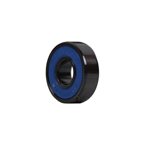 Tgm Skateboards 2 Scooter Wheels With Abec 7 Bearings For Razor Scooter 100mm (Black)