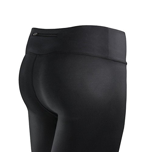 Active Research Women's Compression Pants   Athletic Tights W/Hidden Pocket   X Large