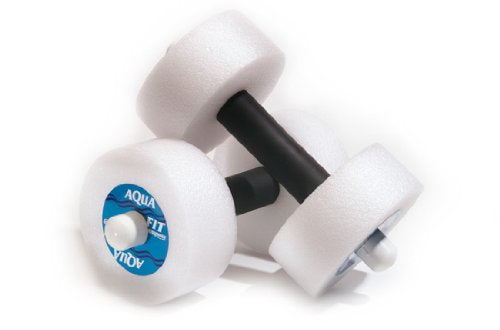 davidamys gift Water Aerobic Exercise Foam Dumbells Pool Resistance 1 Pair Water Fitness Exercises Equipment for Weight Loss