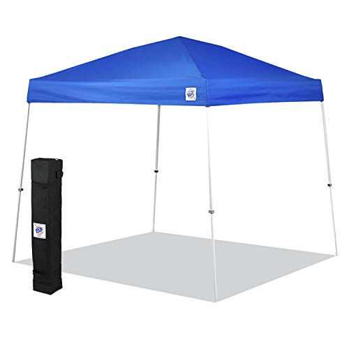 E-Z UP SR9104BL Sierra II 10 by 10-Feet Canopy, Blue, Royal Blue, 10' x 10'