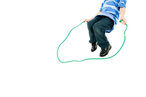 Just Jump It 8 Foot Single Jump Rope - Purple Confetti