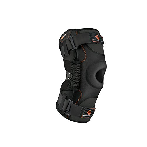 Hinged Knee Brace: Shock Doctor Maximum Support Compression Knee Brace - For ACL/PCL Injuries, Patella Support, Sprains, Hypertension and More for Men and Women - (1 Knee Brace, XXLarge)
