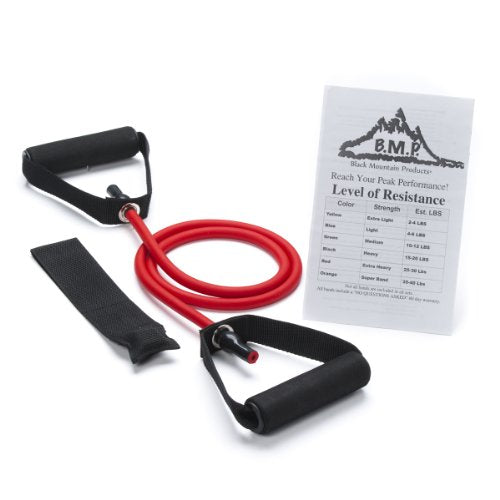 Black Mountain Products New Strong 25 -Pounds Resistance Bands