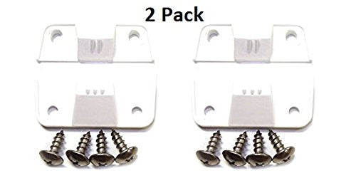 Jsp Manufacturing Coleman Replacement Cooler Hinges + Stainless Screws (2) Pack