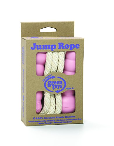 Green Toys Jump Rope Pink, 0.6 Pounds, Standard