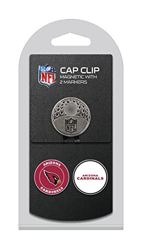 Team Golf 30047 Nfl Arizona Cardinals Golf Cap Clip With 2 Removable Double Sided, Multi