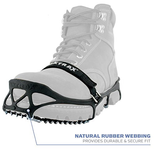 Yaktrax Pro Traction Cleats for Walking, Jogging, or Hiking on Snow and Ice, Small