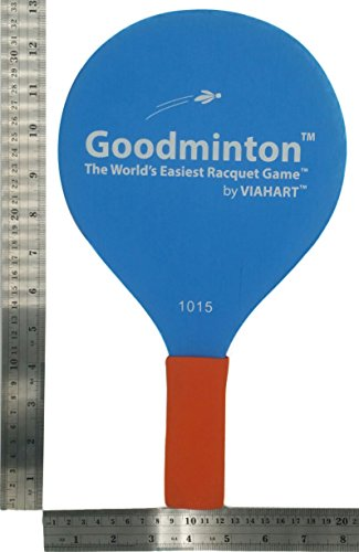 VIAHART Goodminton | The World's Easiest Racket Game | an Indoor Outdoor Year-Round Fun Paddle Game Set for Boys, Girls, and People of All Ages