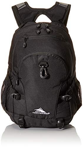 High Sierra Loop Backpack, Black