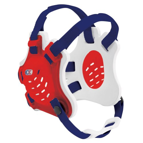 Cliff Keen Tornado Wrestling Headgear - COLOR: Scarlet/White/Navy