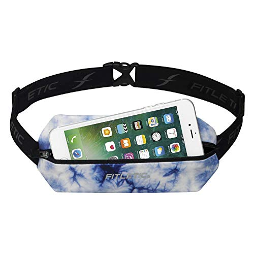 Fitletic Mini Sport Belt   Compact Design | Pouch Fanny Pack | For Running, Jogging, Race, Cycling,