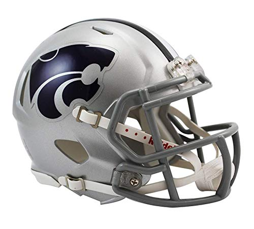 NCAA Kansas State Wildcats Speed Mini Helmet