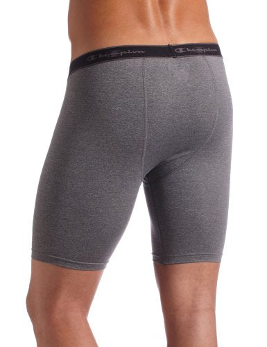 Champion Men's Compression 6 Inch Inseam Short,Slate Grey Heather,Small