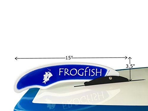 Frogfish Pivoting Spring-Loaded Stand Up Paddle Board Replacement Fin for Rivers, Shallow Water and Surf
