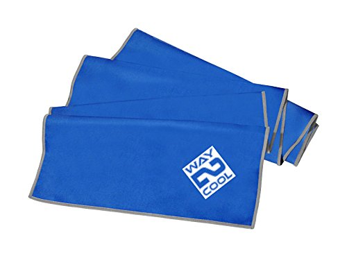 Cages Elite Microfiber Cooling Towel for Sports Person (Blue)