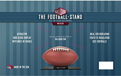 "BCW BQ-FH-Stand-BLK Ballqube""The Stand"" Football Display"